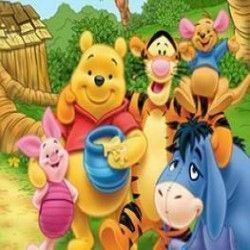 Turma do Pooh números escondidos
