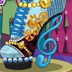 Monster High decorar novo sapato
