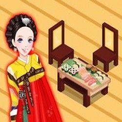 Esse é um jogo bem legal e muito bacana para você poder fazer a decoração de um lindo restaurante japonês. São muitas opções maravilhosas para deixar o restaurante japonês bem bonito.