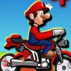 Esse é um maravilhoso jogo online para você poder se divertir com o super Mario e fazer manobras radicais com a moto. Supere os obstáculos, salte montanhas, pegue as moedas e também o kit socorr...