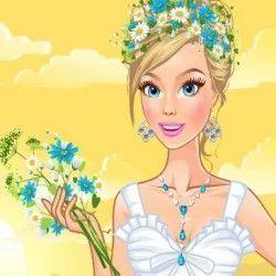 Que tal caprichar no visual dessa menina escolhendo belos vestidos de flores para que ela fique linda e muito fashion. Não esqueça dos acessórios que vão valorizar ainda mais o visual. Vamos jog...