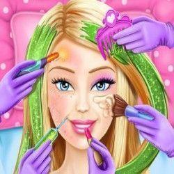 Spa da Barbie cabelos e maquiagem