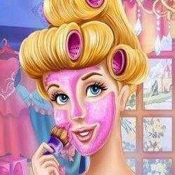 Um sensacional jogo para você caprichar na limpeza de pele da nossa querida princesa Cinderela. São muitas etapas no spa para que sua pele fique bonita e macia e seus cabelos fantásticos. Não es...