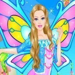 Barbie fada moda