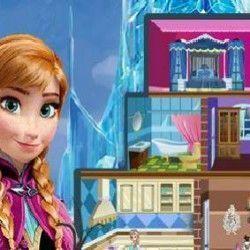 Vamos brincar agora de decorar o castelo da Frozen? Você vai poder usar a criatividade para que o castelo fique lindo e todos os cômodos bem aconchegantes. Vamos jogar agora?