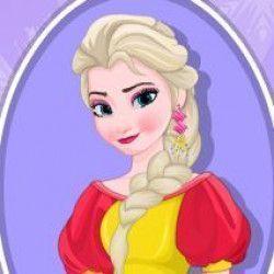 Ajude a princesa Elsa a ficar linda e maravilhosa para sair com seu novo carro e dirigir por todo caminho, com atenção as sinalizações de trânsito.