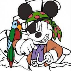 Um jogo online para você poder colorir a imagem do Mickey. aqui agora você terá muitas opções sensacionais para deixar o desenho do pirata bem bonito.