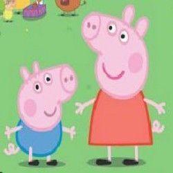 Boliche com Peppa Pig