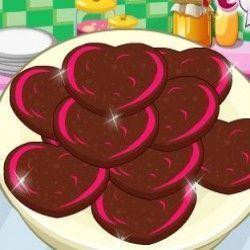 Vamos preparar agora uma receita bem saborosa de cookies de chocolate? Você terá que seguir com atenção a receita e deixar esse biscoitinho maravilhoso para um lanchinho. Vamos jogar agora?