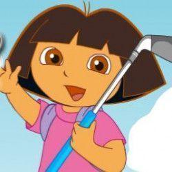 Jogo de golfe da Dora