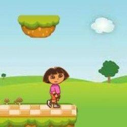 Dora pegar moedas