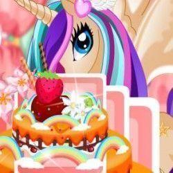 Vamos brincar agora e fazer uma super decoração do bolo My Little Pony? Você terá muitas opções fantásticas para caprichar em cada camada do bolo. Vamos decorar?
