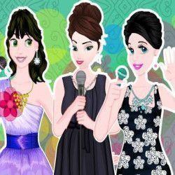 Arrume as princesas para o ano novo. Vista lindas roupas e para cada uma ficar fashion e elegante. São muitas opções fantásticas para você escolher.