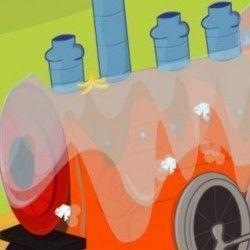 Um sensacional jogo online para que você possa se divertir e caprichar fazendo a lavagem do trem. São muitas etapas até deixar o trem limpo e brilhando. Use a sua habilidade e capriche nessa tar...