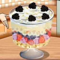 Receita de bolo de nata da Sara