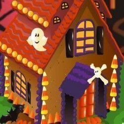 Use a sua criatividade para poder fazer uma bonita decoração da casa de doces do halloween. Você vai poder fazer muitas combinações bem bacanas. Capriche!