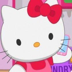 Arrumar casa da Hello Kitty
