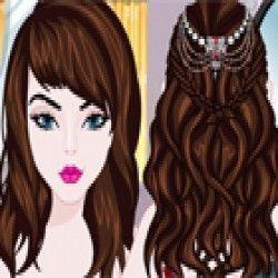 Um divertido jogo para você caprichar no penteado da noiva. Aqui agora é hora de mostrar que é uma boa cabeleireira e deixar a noiva linda com seu penteado para o casamento.