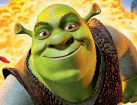Achar números com Shrek