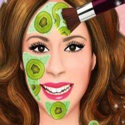 Limpeza de pele e maquiagem da Violetta