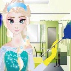 Esse é um jogo bem bacana para você poder se divertir coma  Elsa e limpar toda sujeira da casa. São muitas etapas para você poder deixar a casa limpa e muito organizada. Capriche!