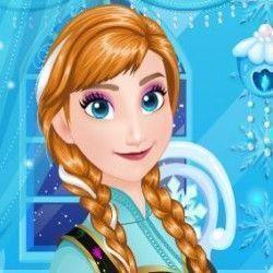 Esse é um jogo muito legal para que você possa mostrar seu talento fazendo uma bonita e fashion maquiagem para a Anna Frozen arrasar na festa. São muitas opções de sombra, batom e muito mais....