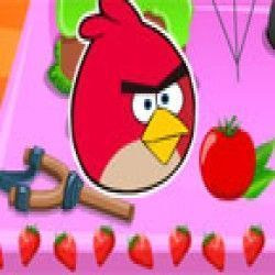 Angry birds decorar bolo