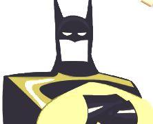 Colorir Batman e Super Homem