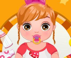 Cuidar bebê e trocar fraldas