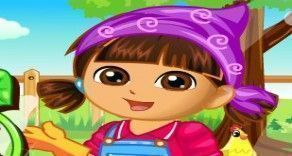 Que tal você se divertir com a querida Dora e fazer uma plantação de vegetais? Você agora vai poder se divertir seguindo atenciosamente cada etapa do processo. Faça tudo correto e tenha delicios...
