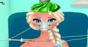 Um fantástico jogo para você se divertir e cuidar da querida Elsa. Ela está com insolação e precisa rapidamente ser tratada para que fique bem. Mostre que você é uma boa médica e faça todos os...