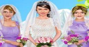 Sua missão nesse jogo agora é fazer um look bem bonito para a noiva e madrinhas do casamento. Você agora deverá mostrar seu bom gosto e caprichar em cada detalhe do sua para que o casamento fi...