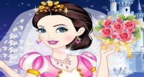 A Cinderela vai casar e conta com a sua ajuda para poder ficar linda e fashion. Você agora terá que mostrar seu bom gosto e vestir um look sensacional de noiva. Escolha um vestido longo, véu, bu...
