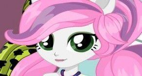 Vamos começar a vestir a Belle da Turma My Little Pony? Essa bonequinha vaidosa precisa da sua para escolher as peças de roupas e deixar o look maravilhoso. São muitas opções para você escolher....