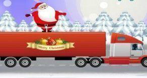 Em cima do caminhão de natal, você terá que dar uma forcinha para o Papai Noel saltar e pegar muitos itens para encher o caminhão, mas tenha cuidados com as bombas para não explodir e derrubar o...