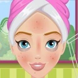Esse é um jogo maravilhoso para você deixar a menina linda e muito elegante. São diversas opções de cremes e máscaras para realizar o tratamento facial. Depois capriche na escolhas das peças de ...