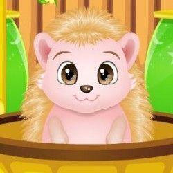 Que tal um joguinho online para brincar com o bebê porco espinho? Aqui nesse joguinho online você vai precisar mostrar sua habilidade e dar banho nesse bichinho em uma banheira com espuma. Depoi...