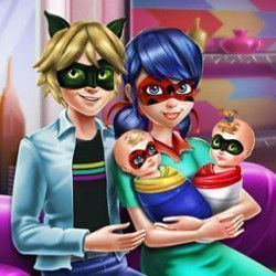 Familia Miraculous Jogos Para Meninas