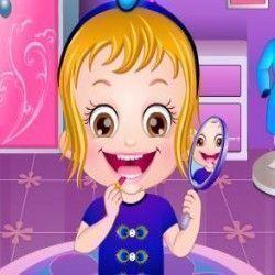 Bebê Hazel desfile de fantasia