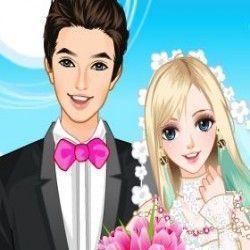 Vamos jogar agora e vestir roupas para que a noiva fique linda e encontre seu amado? Capriche nas suas escolhas para que a foto do casal fique bem bonita. Vamos jogar agora?