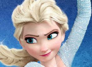 Limpar casa com Elsa Frozen