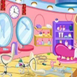 Um maravilhoso jogo para você poder realizar toda limpeza do salão de beleza para que fique limpo e possa receber muitas clientes e deixa-las satisfeitas. Coloque todos os objetos no lugar e faç...