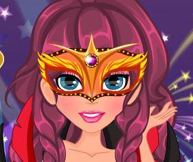 Maquiagem e roupas de carnaval