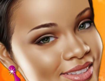 Maquiar Pop Star Rihanna