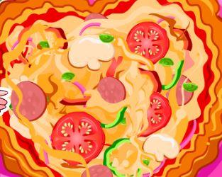 Preparar pizza mista