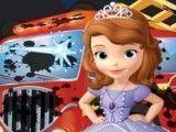 Princesa Sofia lavar caminhão