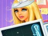 Barbie cirurgia do braço