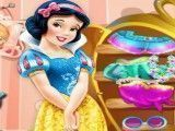 Limpar quarto da princesa Branca de Neve