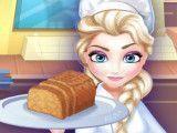 Elsa fazer pão