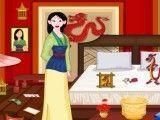Limpeza do quarto da Mulan